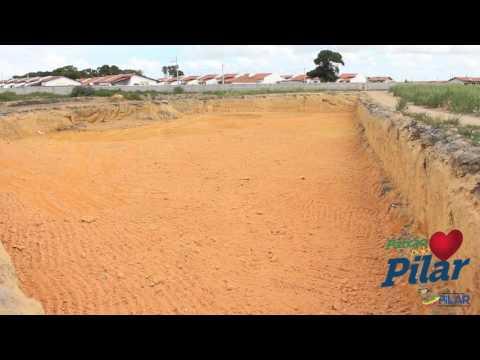 Construção de lagoa de contenção águas pluviais em Pilar / AL
