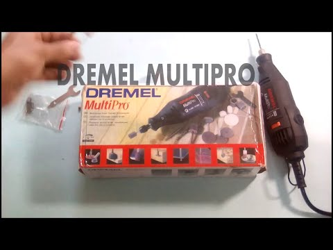 DREMEL MODEL 395 TYPE 5 VARIABLE SPEED ROTARY TOOL REVIEW