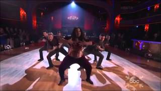 Amber Riley and Derek Hough   Week 11   Finale   Freestyle   Encore
