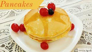 Basic Pancake recipe l Easy pancakes l How to make Pancakes l Breakfast recipe