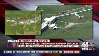 One killed, three injured in Lake City Army Ammunition Plant explosion