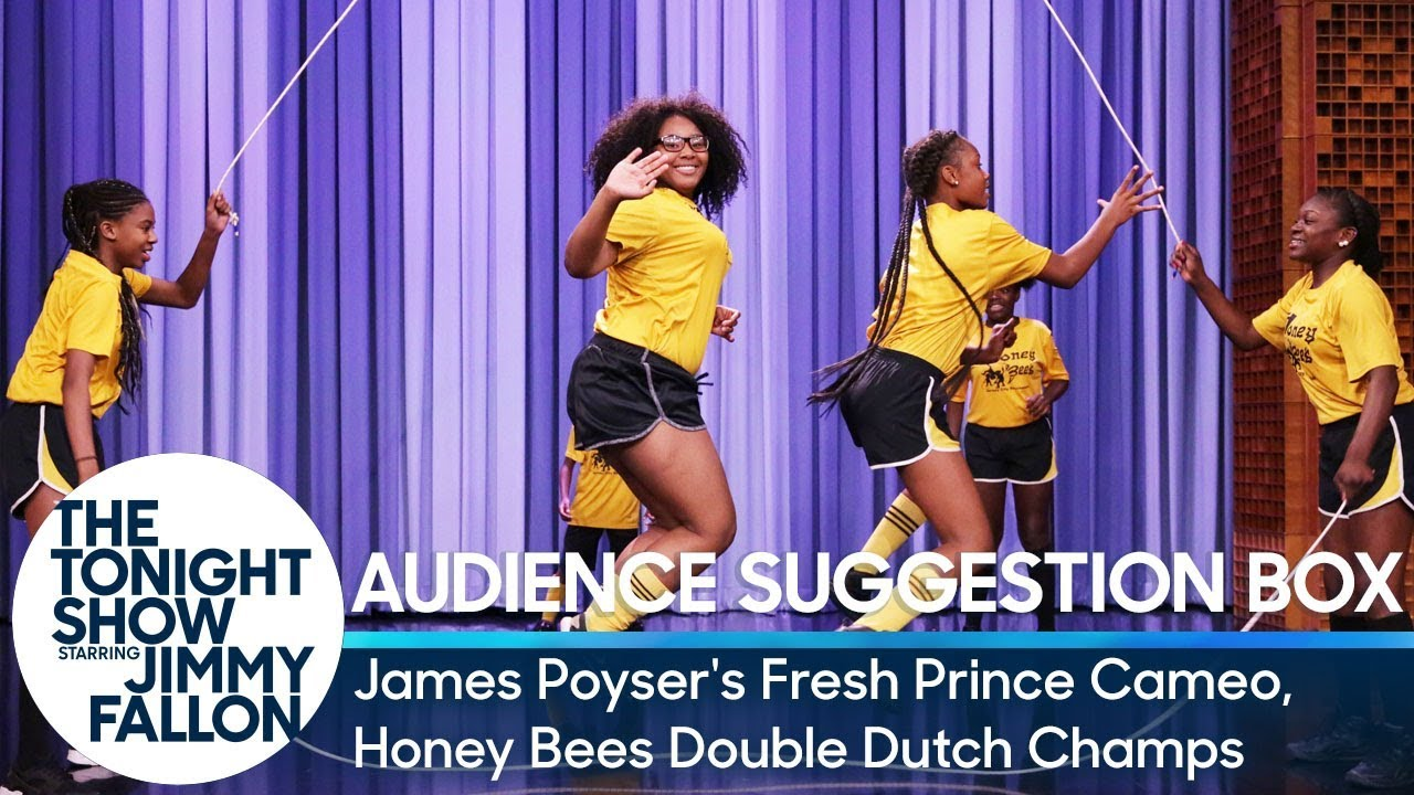 Audience Suggestion Box: James Poyser's Fresh Prince Cameo, Honey Bees Double Dutch Champs thumbnail