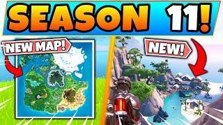 *NEW* Fortnite SEASON 11 MAP REVEALED! (Fortnite Battle Royale Update)