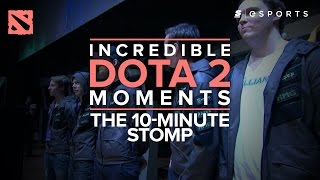 Incredible Dota 2 Moments: The 10 Minute Stomp (Alliance Vs. INfernity)