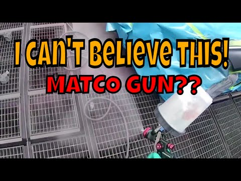 Spray gun review MATCO MTHVLP14