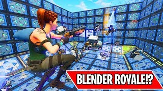 *NEW* BLENDER ROYALE MINI GAME!!! (Fortnite Custom Games)