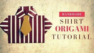 Мастер класс. Как сделать оригами рубашку из бумаги своими руками в подарок на 23 февраля мужчине. В этом видео я покажу как очень просто сделать оригами рубашку с галстуком из бумаги. Перейдя по ссылке ты узнаешь, как из этой рубашки