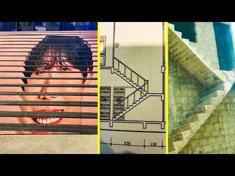 Stair Design Fails That Raise Too Many Questions