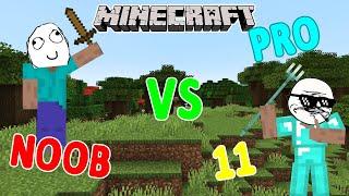 MINECRAFT - NOOB VS PRO 11