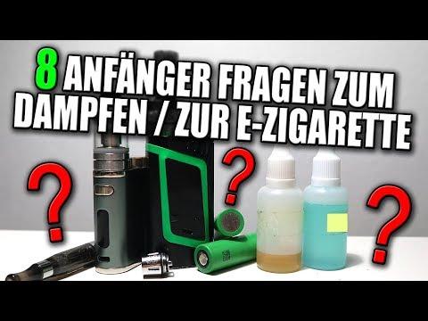 8 ANFÄNGER FRAGEN ZUM DAMPFEN / ZUR E-ZIGARETTE   Einsteiger Geräte? Ist dampfen günstiger? #VapeDay