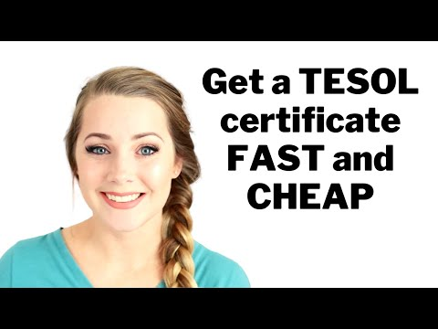How to Get a TESOL Certificate to Teach English Online - FAST ...