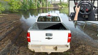 Chevrolet Colorado Truck - Forza Horizon 4 | Logitech G29 Gameplay