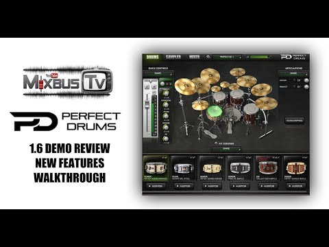 Perfect Drums 1.6 Demo Review, New Features – Massive Sounding Drums
