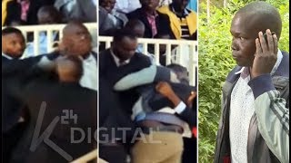 Man who heckled at Moi's Nyayo service speaks