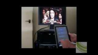 Onkyo TX-NR414 AV Receiver Network Android app Hometheatre