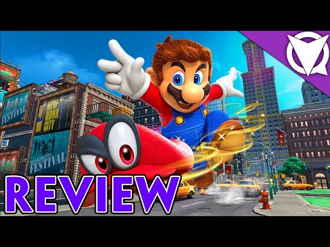 Super Mario Odyssey Review video thumbnail