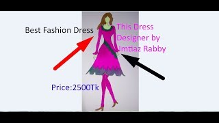 How to make a Dress ||Kameez Front And Back Neck Design cutting and stitching||New eid Dress - Video Youtube