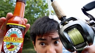 Ghost Pepper Fishing Challenge!!!