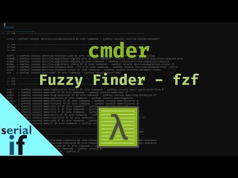 Cmder - 05 : Intégration de Fuzzy Finder - FZF