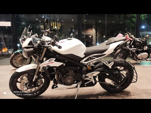 Imported Superbike bikes /street triple RS beast arrived India #chennai