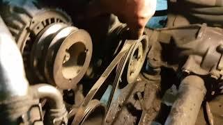 Как затянуть шкив коленвала за 5 мин на авто без проблем и так же открутить