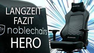 Noblechairs Hero - Der BESTE Gaming Stuhl?! Mein Langzeitfazit!
