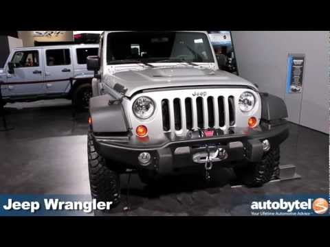 Jeep Wrangler Call of Duty: Modern Warfare 3 Edition at the 2012 Detroit Auto Show video