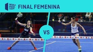 Resumen Final Femenina Ale/Ari Vs Majo/Delfi Estrella Damm Alicante Open 2019