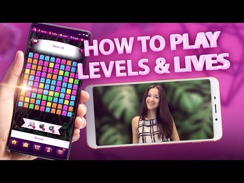 How to play levels and lives event in Lady Popular? | Bloopers