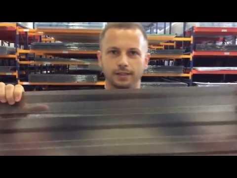 Монолитный поликарбонат. Новинка для навесов, козырьков. Толщина 0,8 мм.