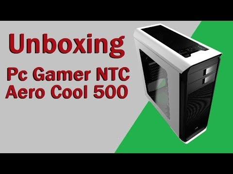 Unboxing pc Gamer