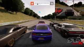 Someone Gets Salty! Forza Horizon 2 Online Drag Racing Shit Talk Grudge Race | Mustang Vs RoadRunner
