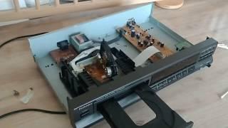 CD Spieler selbst reparieren (CD springt bleibt hängen) Technics Yamaha JVC etc Repair CD Player DIY