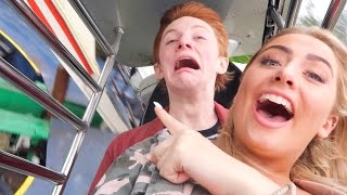 I BROKE DOWN THE RIDE AT THORPE PARK!!