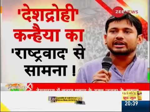 Deshhit: Kanhaiya Kumar faces protest during his roadshow in Bihar
