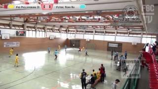 preview picture of video 'FSC Philippsburg II - Futsal Nova 08 Karlsruhe'