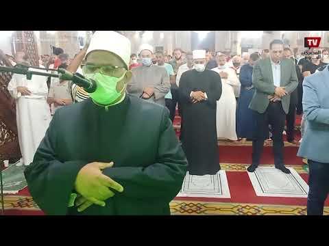 صلاه عيد الاضحى المبارك فى مسجد المرسى ابو العباس بالاسكندرية