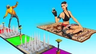 DEATHRUN With A MAGIC CARPET!? (Fortnite Creative)