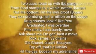 Future - mask off lyrics  ( video ) New  lyrics to mask of song