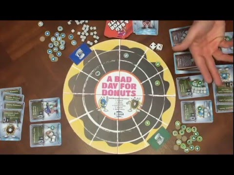Game Overview of A Bad Day For Donuts by Topwise Games
