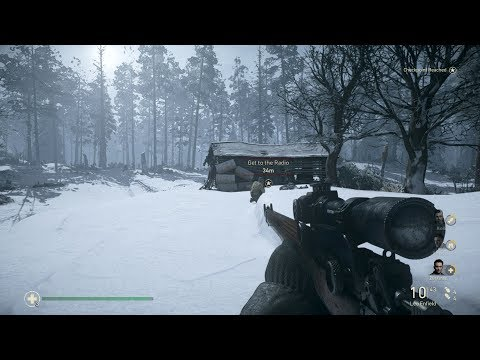 Call of Duty: WWII Gameplay (PC HD) [1080p60FPS]