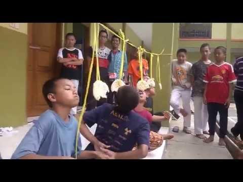 SMPIT Al-Multazam 2. 17 Agustus'an Lomba Makan krupuk