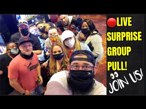 🔴LIVE GROUP PULL FROM CHOCTAW CASINO RESORT-GRANT