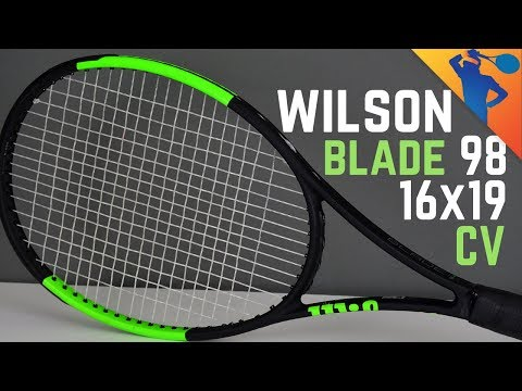 Wilson Blade 98 (16×19) Countervail Tennis Racket Review!