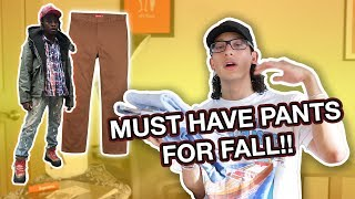 5 MUST HAVE PANTS FOR FALL! (2017)