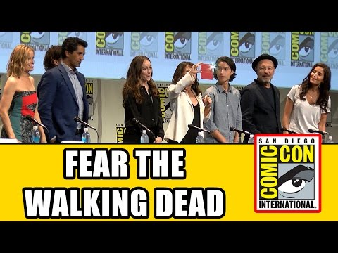 , title : 'Fear The Walking Dead Comic Con Panel - Cliff Curtis, Alycia Debnam Carey, Frank Dillane'