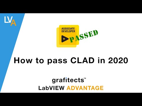 How to Pass CLAD in 2020 - LabVIEW - YouTube