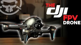 The DJI FPV Drone - The BEST Beginner Drone? [Review, Unboxing, & Freestyle]