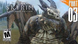 【SKYRIM 200+ MODS】Argonian Gameplay Walkthrough Part 3 [PC - HD]