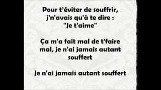 Paroles  Maitre Gims -  Est ce que tu m'aime - Paroles